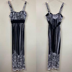 Olivia Matthews   Maxi Sun Dress Size Large